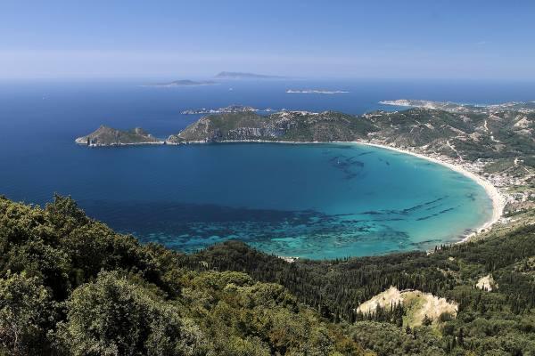 Дучшие пляжи Корфу