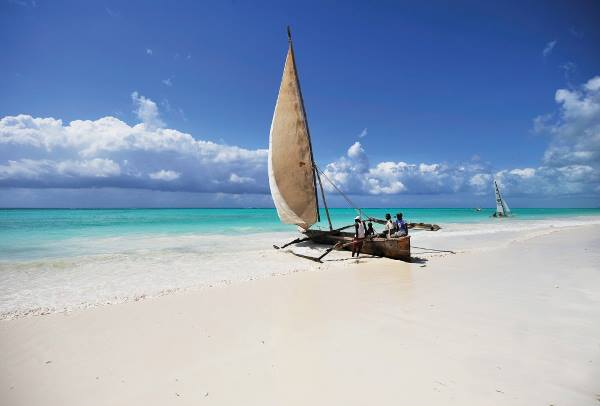 Лучшие пляжи Занзибара на карте, фото